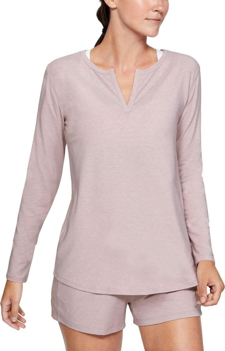 Langarm-T-Shirt Under Armour Recovery Sleepwear Longsleeve