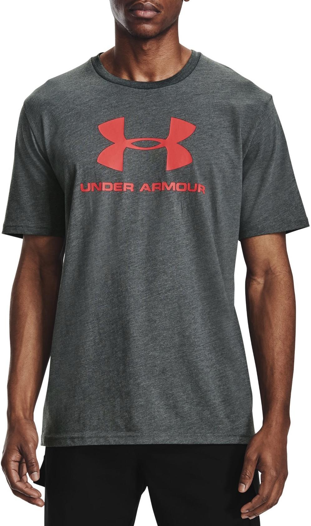 T-Shirt Under Armour UA SPORTSTYLE LOGO SS-GRY